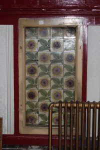Ballroom tiles - Sunflowers (Photo: Paul Taylor)