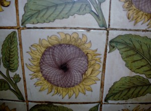Ballroom tiles Sunflowers 6 (MB)