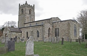 The church from the south-east